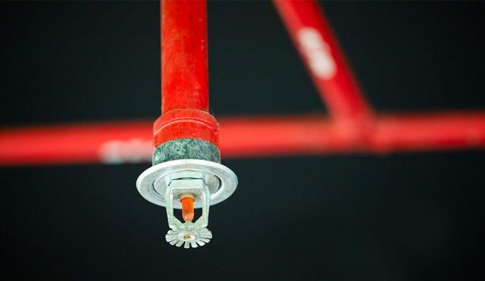 Manual Inspection of a Fire Sprinkler System: